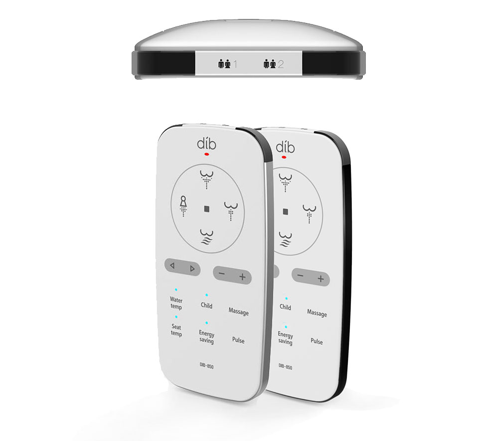 DIB Luxury Class Bidet Seat (Special Edition) Remote control - bidet-superstore.com